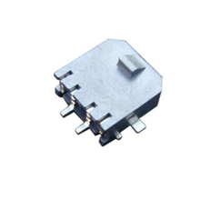 SMT M3045 Right Angle Single Row Header Connector with PCB Solder Tab